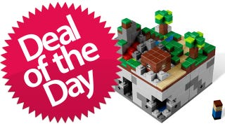 Illustration for article titled This Lego Minecraft Is Your Building-Blocks-For-Building-Blocks Deal of the Day