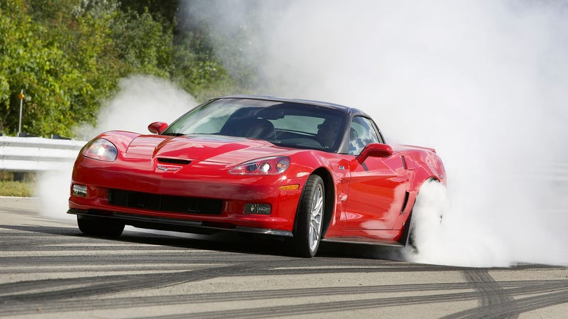 The 2009 Chevrolet Corvette ZR1, which is a couple of years, and probably a couple of trim levels, off of the car Randall Cepi allegedly bought with stolen information.