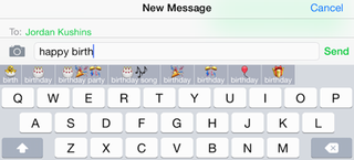 Illustration for article titled This Keyboard Autocompletes Text to Emoji and Saves Your Favorite Combos