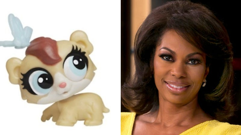 Illustration for article titled Harris Faulkner Sues Company Over Toy Hamster Named 'Harris Faulkner' That Looks Like Her