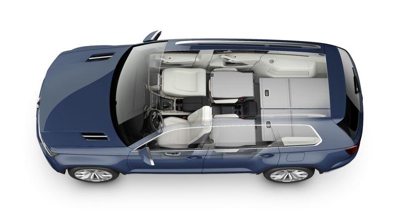 Illustration for article titled VW's 'Strategy 2018' Is Dead, Seven-Passenger SUV Still Alive