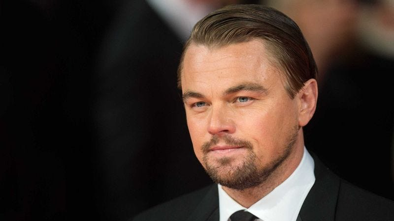 """DiCaprio says that if his donation helps even one B-lister become bona fide Hollywood royalty with proven box-office pull, """"it will have been completely worth it."""""""