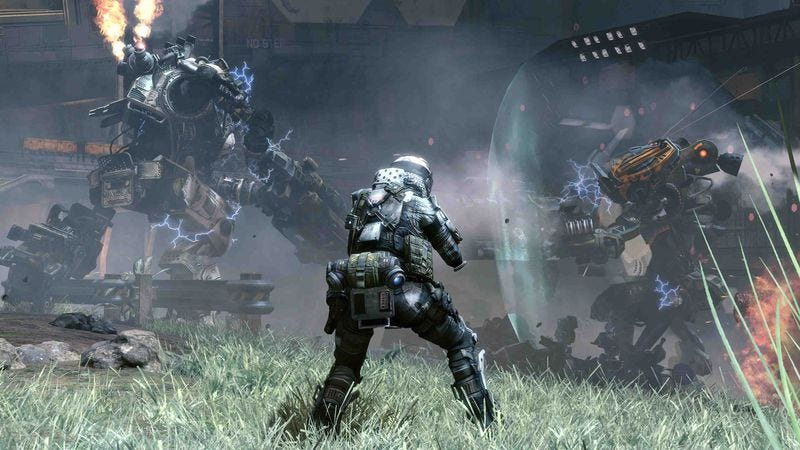 Illustration for article titled Titanfall supplants its ancestors with speed and scale