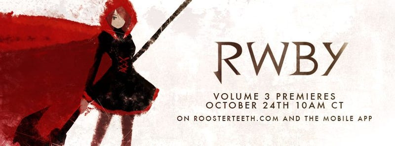 Illustration for article titled Hey guys, RWBY is back!