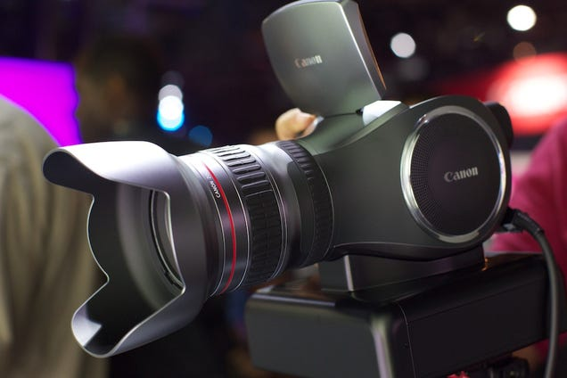 Canon's first 4K camera