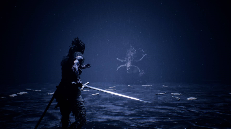 Illustration for article titled Hellblade's Fenrir Encounter Belongs In The Pantheon Of Great Boss Fights