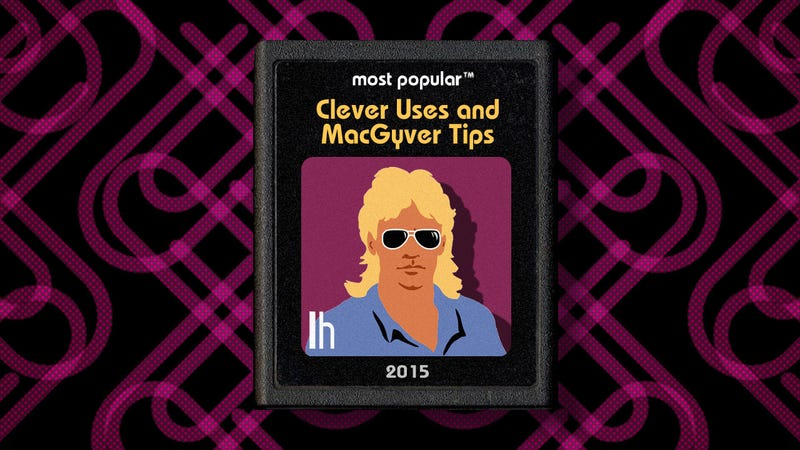 Illustration for article titled Most Popular Clever Uses and MacGyver Tips of 2015