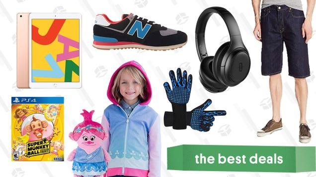 Tuesday s Best Deals: Amazon Big Style Sale, Super Monkey Ball: Banana Blitz HD, 10.2  iPad, Heat-Resistant BBQ Gloves, TaoTronics ANC Headphones, and More