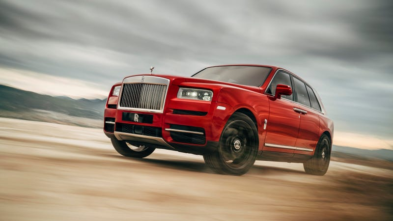 Illustration for article titled The Rolls-Royce Cullinan Is Too Small
