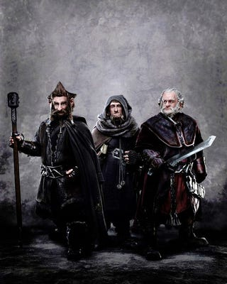 Illustration for article titled Dwarves from The Hobbit photo