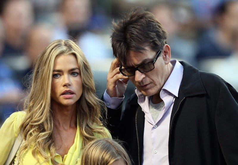 Illustration for article titled Charlie Sheen: Denise Richards a 'Heretic Washed Up Piglet Shame Pile'