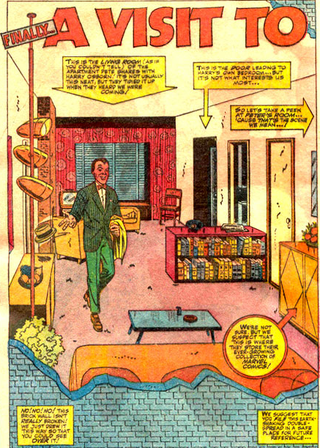 Illustration for article titled Vintage Spider-Man maps lay out the geography of Peter Parker's life