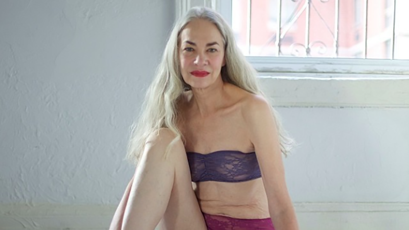 Illustration for article titled American Apparel's New Lingerie Model Is 62, Looks Better Than Us