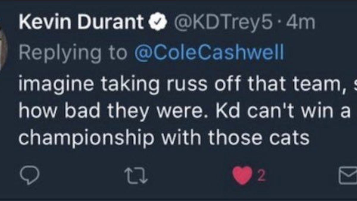 14474a07361 Either Kevin Durant Refers to Himself in 3rd Person
