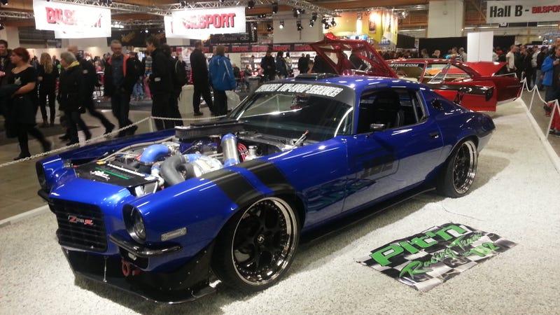 """Illustration for article titled Some pics I """"snagged"""" at Bilsport Custom Motorshow, Sweden's biggest car show"""