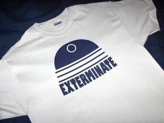 Illustration for article titled Dear Santa: Bring Me This Fashionable Dalek T-Shirt