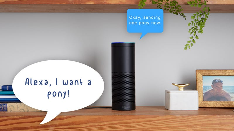 Illustration for article titled How to Keep Curious Kids From Ordering Stuff With Your Amazon Echo