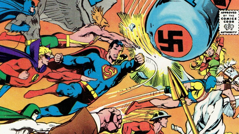 Superhero Comics Long History Of Beating Up Nazis