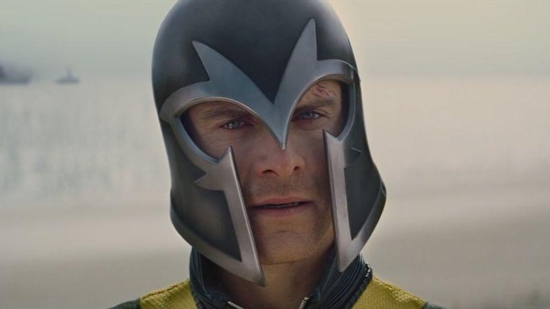Michael Fassbender as Magneto in X-Men: First Class