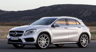 Illustration for article titled Americans, you know the A45 AMG Hatch?