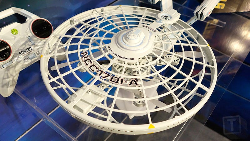 You Don't Need any Starfleet Training to Fly This Star Trek USS Enterprise Drone