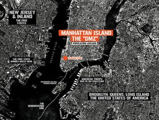 Illustration for article titled NYC Is The DMZ: Brian Wood's Top 5 Places in New York
