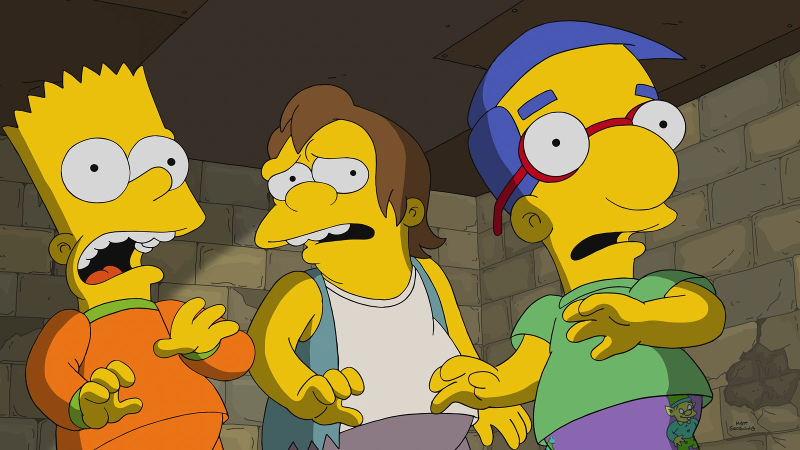 """treehouse of horror xxix"""" sees the simpsons ladle out some tepid horrors"""
