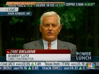 Illustration for article titled Bob Lutz Is A CNBC Contributor Now?