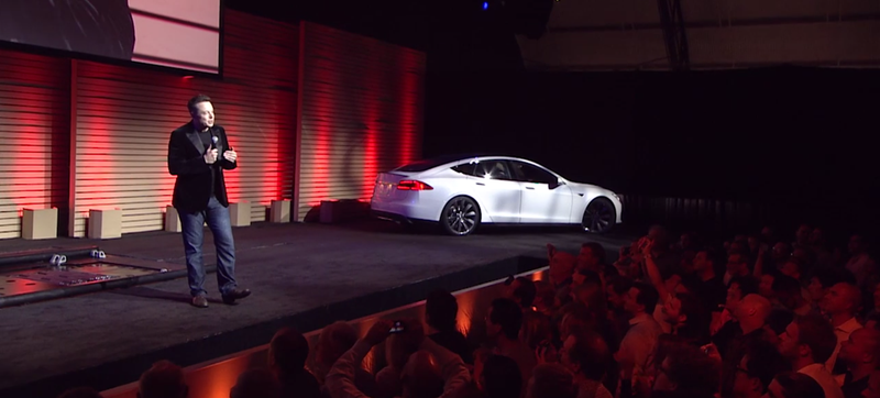 Illustration for article titled Tesla Will Do 'Limited Beta' Battery Swaps Between LA And SF [UPDATE]