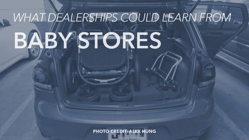 Illustration for article titled What Dealerships Could Learn From  Baby Stores