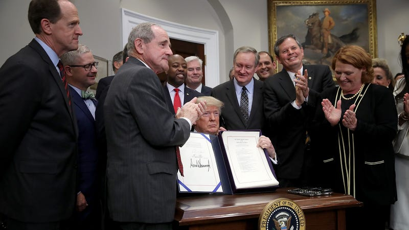 President Trump signs Economic Growth, Regulatory Relief, and Consumer Protection Act