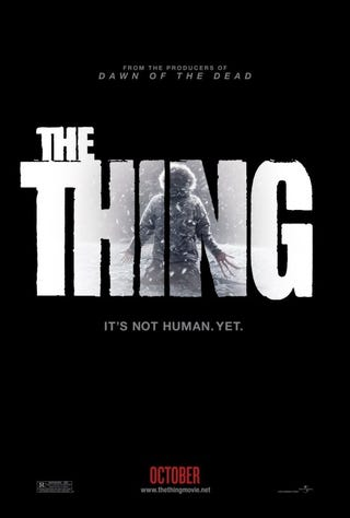 Illustration for article titled The Thing Poster