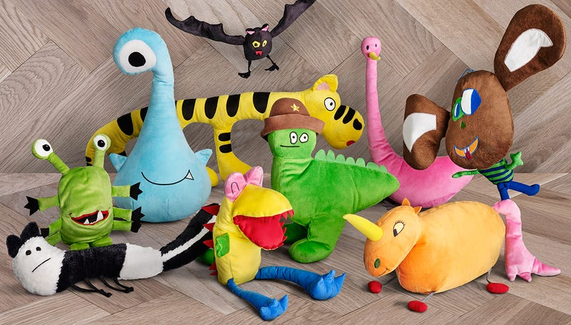 Ikea turned a bunch of children 39 s drawings into a new line for Ikea children toys