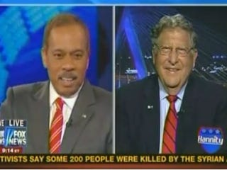 Juan Willams and John Sununu (Fox News)