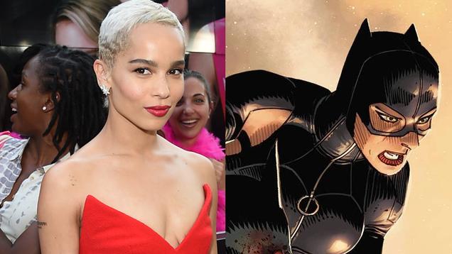 Zoë Kravitz Will Play Catwoman in Matt Reeves  Batman Movie