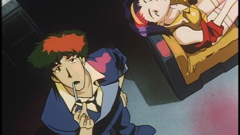 """Illustration for article titled Cowboy Bebop: """"Toys In The Attic"""""""