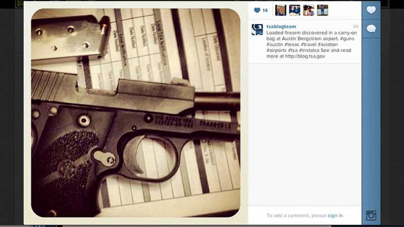 Illustration for article titled TSA Is Instagramming the Crazy Stuff It Confiscates at Checkpoints