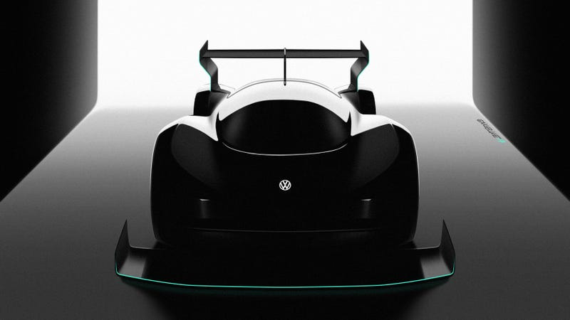Volkswagon is building an electric supercar to tackle Pike's Peak