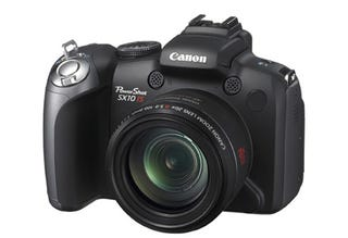 Illustration for article titled Canon 10MP SX10 Boasts 20x Optical Zoom Lens