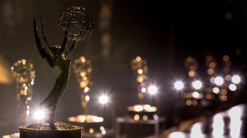 An Emmy award.