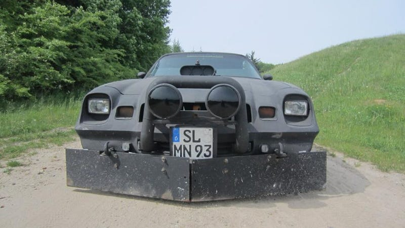 Illustration for article titled Ghost car: A Camaro used in the Bosnian war in the 90s.