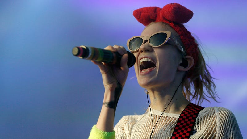 """Illustration for article titled 'Once My Album""""The Kindness Of The High Prince: He Gives Us Fast Trains,""""Comes Out, People Will Understand What I See In Elon Musk': 5 Questions With Grimes"""