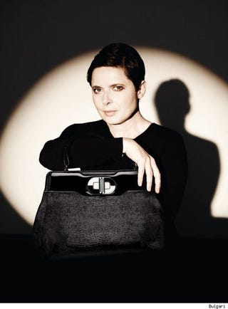 Illustration for article titled Isabella Rossellini's Handbags Feature Animals Having Sex