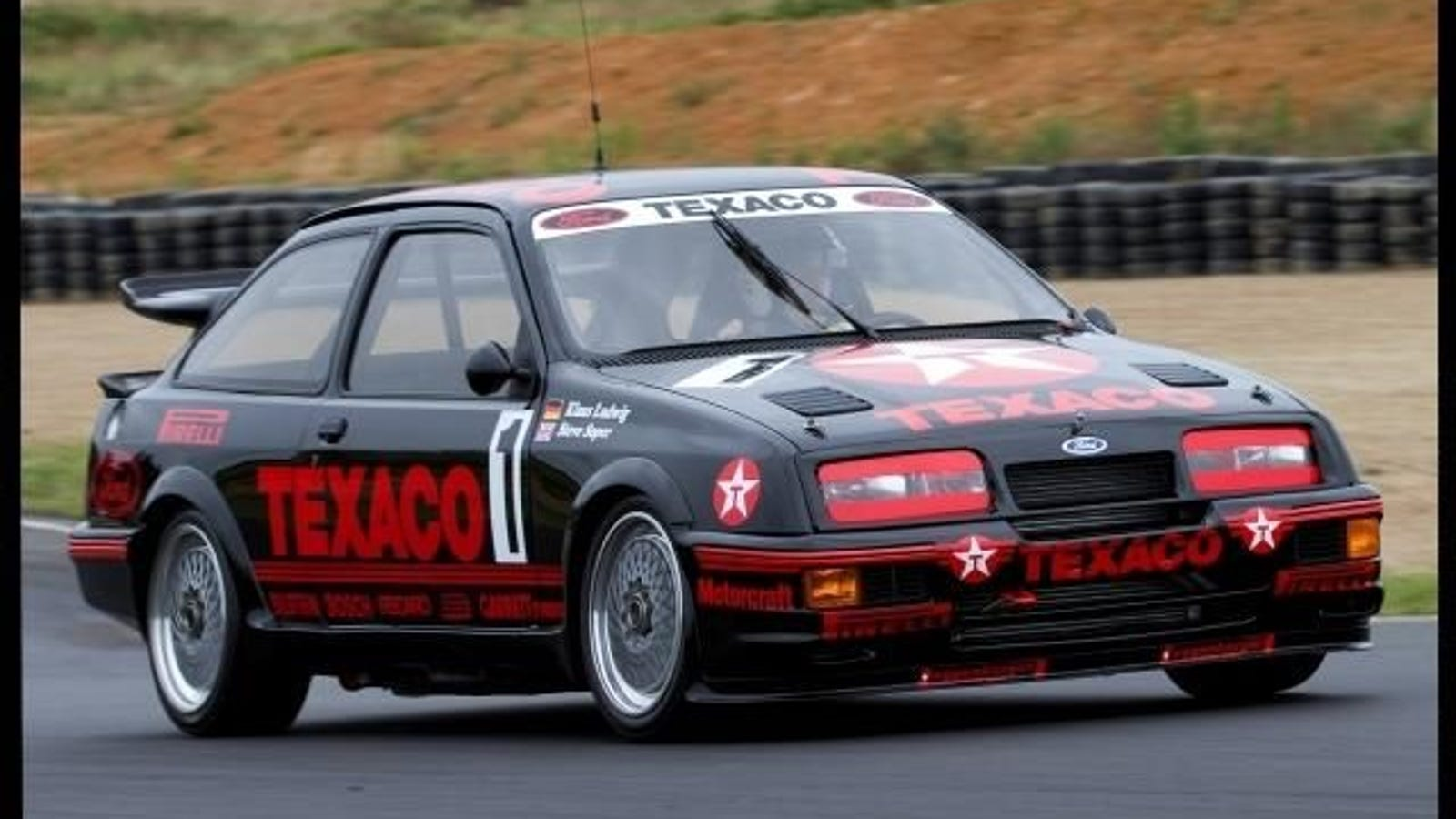 Spotted on Trade Me: 1988 Sierra RS500 TEXACO