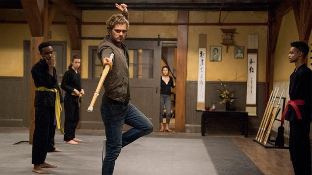 please caption this new iron fist picture