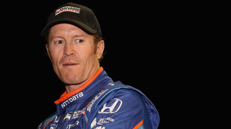 Indianapolis 500 pole winner Scott Dixon at Phoenix International Raceway in April. Photo credit: Christian Petersen/Getty Images