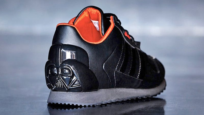 new product fdd3b 77e60 Adidas New Star Wars Sneaks Will Make You Wish You Were a Ki