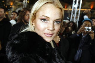 Illustration for article titled Lindsay Lohan Looks Like Someone, And That Someone Is Not Lindsay Lohan