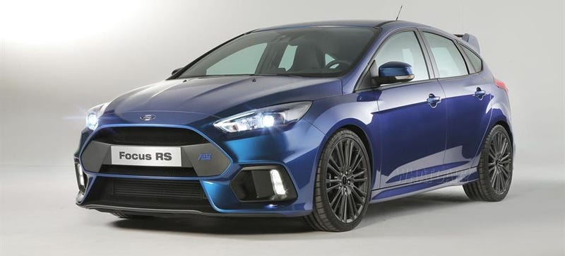 Illustration for article titled Ford Focus RS