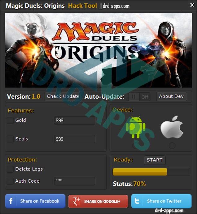 Magic Duels Origins hack tool ~ 1111 Hacks to games